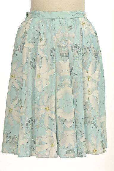 YLANG YLANG(イランイラン)の古着「花柄フレア膝丈スカート(スカート)」大画像2へ