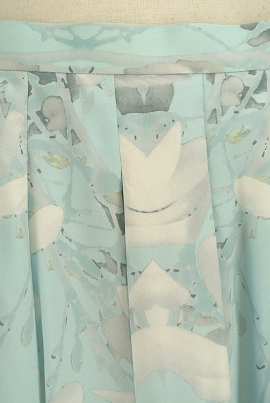 YLANG YLANG(イランイラン)の古着「花柄フレア膝丈スカート(スカート)」大画像4へ