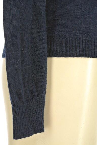 UNITED ARROWS(ユナイテッドアローズ)の古着「クルーネックカーディガン(カーディガン・ボレロ)」大画像5へ