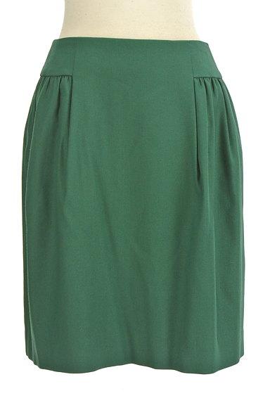 TOMORROWLAND(トゥモローランド)の古着「サイドタックセミフレアスカート(スカート)」大画像1へ