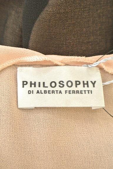 PHILOSOPHY DI ALBERTA FERRETTI(フィロソフィーアルベルタフィレッティ)の古着「バイカラーレース切替ワンピ(ワンピース・チュニック)」大画像6へ