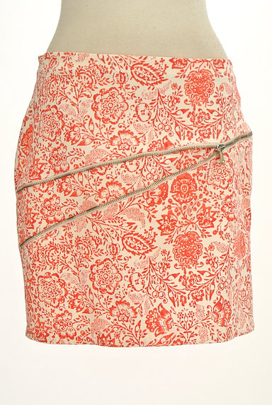 PATRIZIA PEPE(パトリッツィアペペ)の古着「デザインファスナーミニスカート(ミニスカート)」大画像1へ