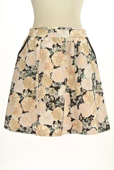 Feroux(フェルゥ)の古着「花柄フレア膝上スカート(スカート)」大画像1へ