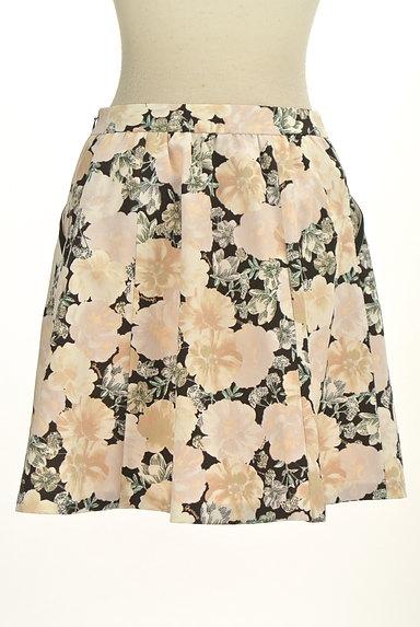 Feroux(フェルゥ)の古着「花柄フレア膝上スカート(スカート)」大画像2へ