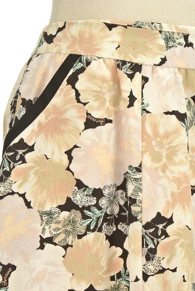 Feroux(フェルゥ)の古着「花柄フレア膝上スカート(スカート)」大画像4へ
