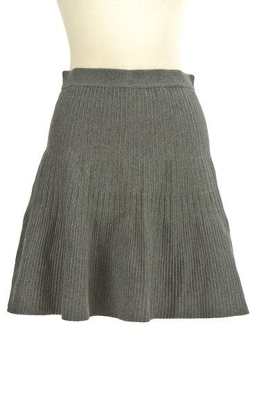 Feroux(フェルゥ)の古着「ニット編地サーキュラースカート(ミニスカート)」大画像1へ