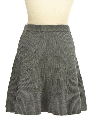 Feroux(フェルゥ)の古着「ニット編地サーキュラースカート(ミニスカート)」大画像2へ