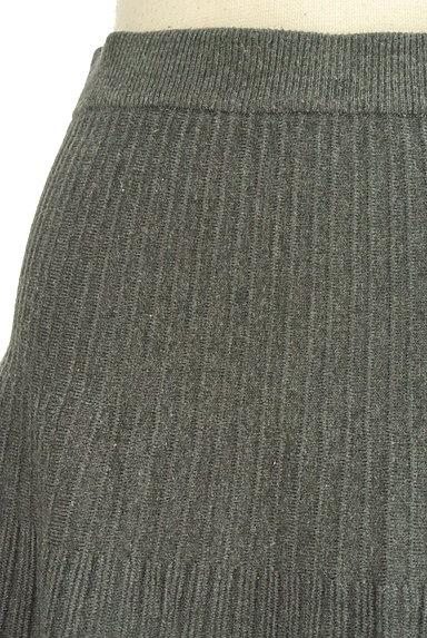 Feroux(フェルゥ)の古着「ニット編地サーキュラースカート(ミニスカート)」大画像4へ
