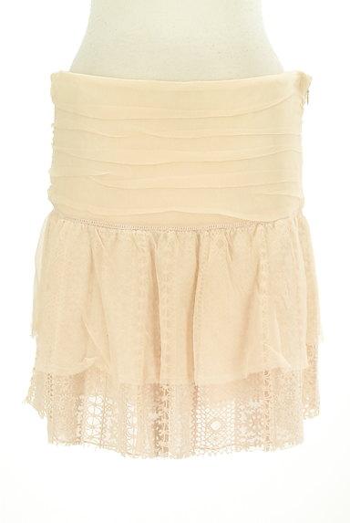 PATRIZIA PEPE(パトリッツィアペペ)の古着「刺繍シフォンレースミニスカート(ミニスカート)」大画像1へ