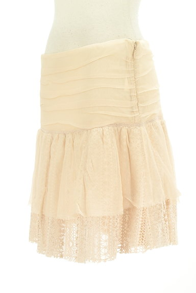 PATRIZIA PEPE(パトリッツィアペペ)の古着「刺繍シフォンレースミニスカート(ミニスカート)」大画像3へ