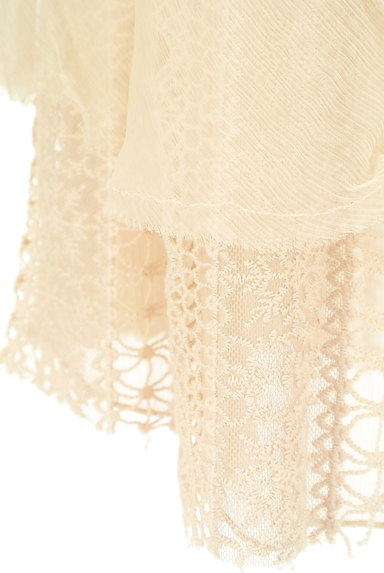 PATRIZIA PEPE(パトリッツィアペペ)の古着「刺繍シフォンレースミニスカート(ミニスカート)」大画像5へ
