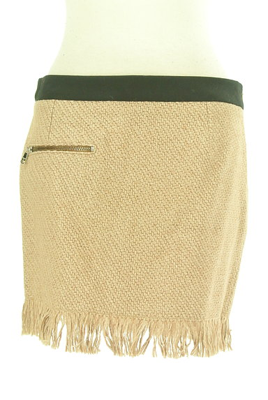 PATRIZIA PEPE(パトリッツィアペペ)の古着「裾フリンジミニスカート(ミニスカート)」大画像1へ