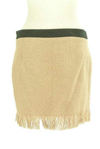 PATRIZIA PEPE(パトリッツィアペペ)の古着「裾フリンジミニスカート(ミニスカート)」大画像2へ