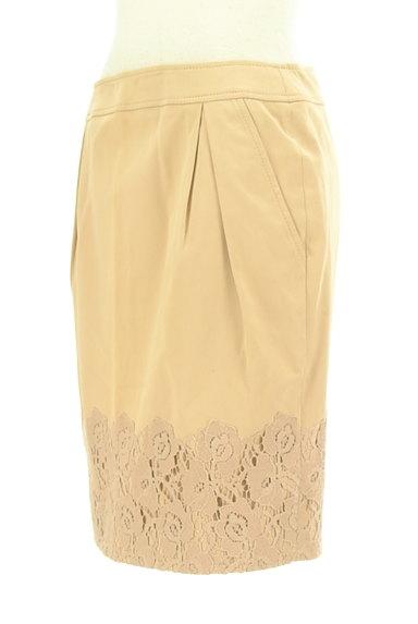 PHILOSOPHY DI ALBERTA FERRETTI(フィロソフィーアルベルタフィレッティ)の古着「刺繍レースヘムタックスカート(スカート)」大画像3へ