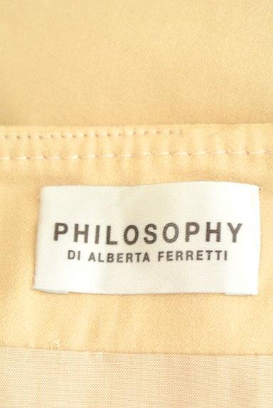 PHILOSOPHY DI ALBERTA FERRETTI(フィロソフィーアルベルタフィレッティ)の古着「刺繍レースヘムタックスカート(スカート)」大画像6へ