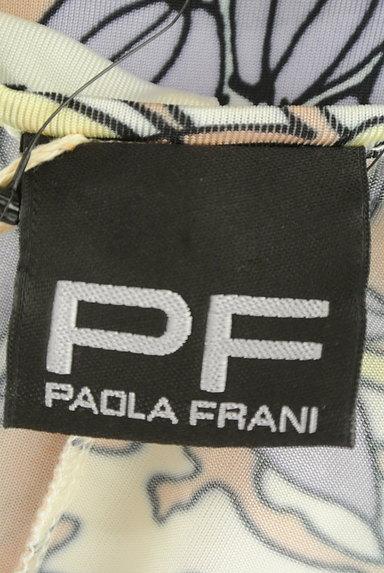 PF by PAOLA FRANI(ピーエッフェバイパオラフラーニ)の古着「花柄プリントタイトワンピース(ワンピース・チュニック)」大画像6へ