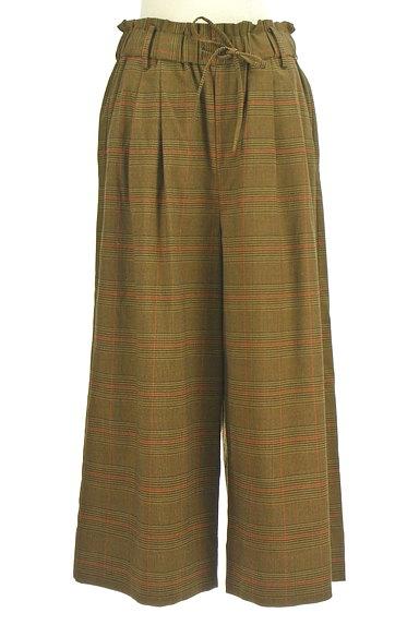 JOURNAL STANDARD(ジャーナルスタンダード)の古着「チャック柄ワイドパンツ(パンツ)」大画像1へ