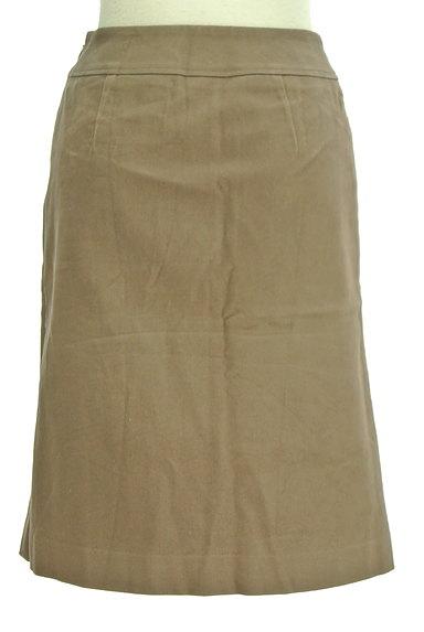 INDIVI(インディヴィ)の古着「裾タックセミフレアスカート(スカート)」大画像2へ