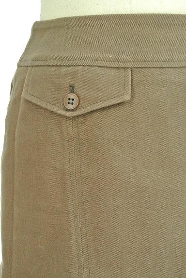 INDIVI(インディヴィ)の古着「裾タックセミフレアスカート(スカート)」大画像4へ