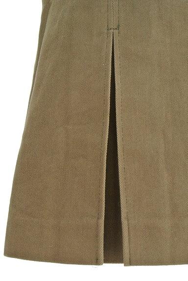 INDIVI(インディヴィ)の古着「裾タックセミフレアスカート(スカート)」大画像5へ