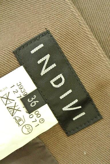 INDIVI(インディヴィ)の古着「裾タックセミフレアスカート(スカート)」大画像6へ
