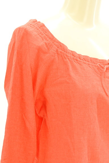 IENA(イエナ)の古着「リボンネック7分袖カットソー(カットソー・プルオーバー)」大画像5へ