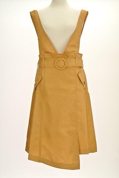axes femme(アクシーズファム)の古着「ラップ風変形サロペットスカート(オーバーオール・サロペット)」大画像1へ
