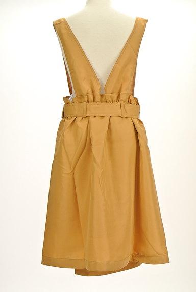 axes femme(アクシーズファム)の古着「ラップ風変形サロペットスカート(オーバーオール・サロペット)」大画像2へ