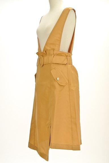 axes femme(アクシーズファム)の古着「ラップ風変形サロペットスカート(オーバーオール・サロペット)」大画像3へ