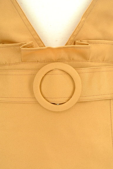 axes femme(アクシーズファム)の古着「ラップ風変形サロペットスカート(オーバーオール・サロペット)」大画像4へ