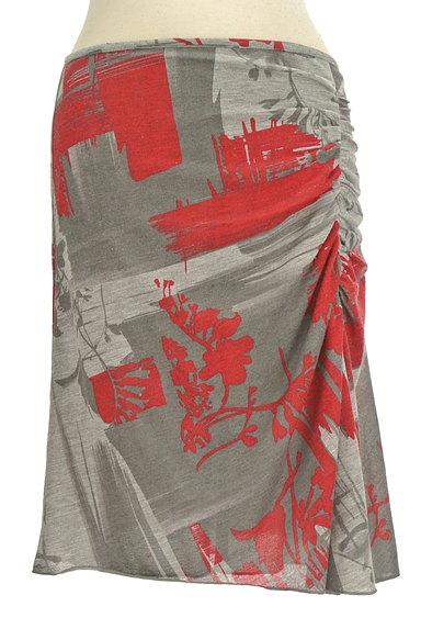 PHILOSOPHY DI ALBERTA FERRETTI(フィロソフィーアルベルタフィレッティ)の古着「総柄サイドギャザー膝丈スカート(スカート)」大画像1へ