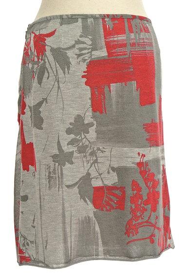 PHILOSOPHY DI ALBERTA FERRETTI(フィロソフィーアルベルタフィレッティ)の古着「総柄サイドギャザー膝丈スカート(スカート)」大画像2へ