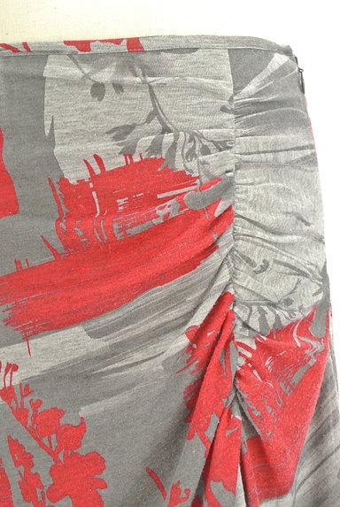 PHILOSOPHY DI ALBERTA FERRETTI(フィロソフィーアルベルタフィレッティ)の古着「総柄サイドギャザー膝丈スカート(スカート)」大画像4へ