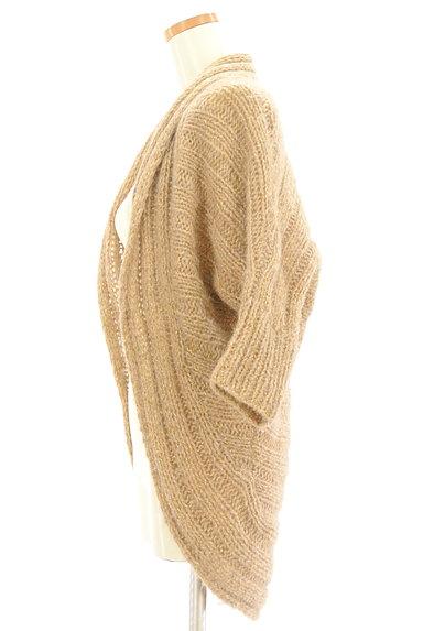 BEATRICE(ベアトリス)の古着「ロングラメニットカーディガン(カーディガン・ボレロ)」大画像3へ