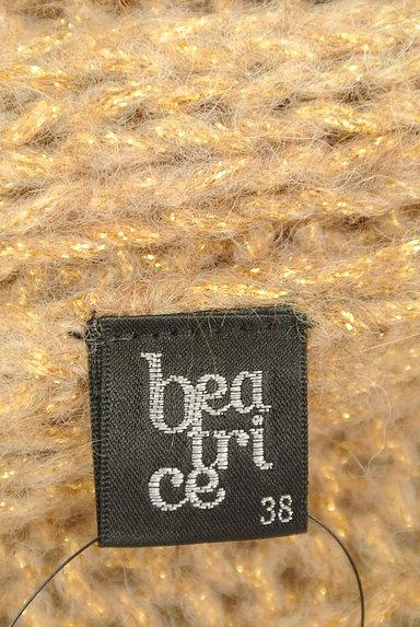 BEATRICE(ベアトリス)の古着「ロングラメニットカーディガン(カーディガン・ボレロ)」大画像6へ