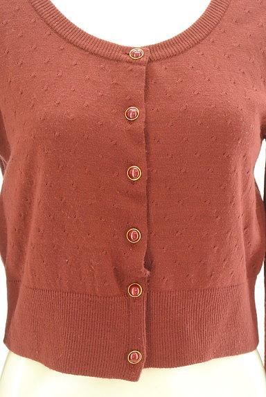 L'EST ROSE(レストローズ)の古着「クルーネックカーディガン(カーディガン・ボレロ)」大画像5へ