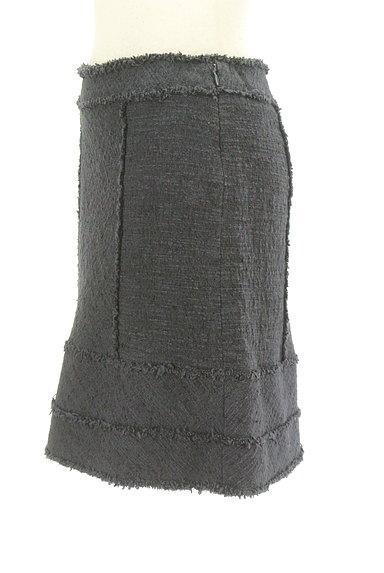 PROPORTION BODY DRESSING(プロポーションボディ ドレッシング)の古着「フリンジデザイン台形スカート(スカート)」大画像3へ