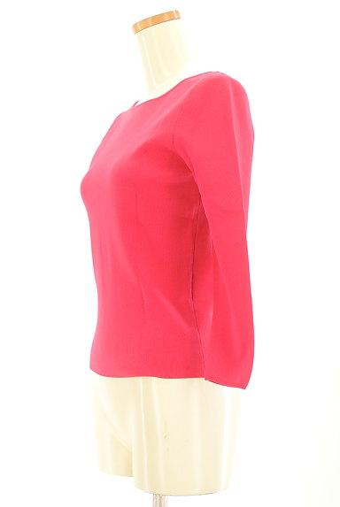 Rouge vif La cle(ルージュヴィフラクレ)の古着「ビビットカラーカットソー(カットソー・プルオーバー)」大画像3へ