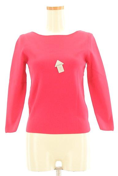 Rouge vif La cle(ルージュヴィフラクレ)の古着「ビビットカラーカットソー(カットソー・プルオーバー)」大画像4へ