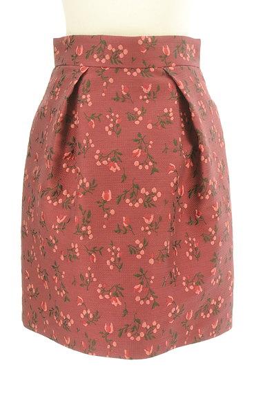 JILLSTUART(ジルスチュアート)の古着「フラワー刺繍タックスカート(スカート)」大画像1へ
