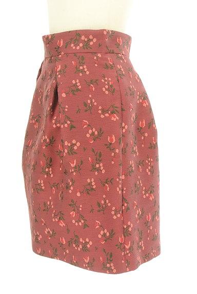 JILLSTUART(ジルスチュアート)の古着「フラワー刺繍タックスカート(スカート)」大画像3へ