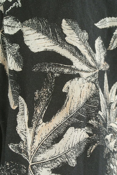 BARNYARDSTORM(バンヤードストーム)の古着「ボタニカル柄オープンカラーシャツ(カジュアルシャツ)」大画像5へ