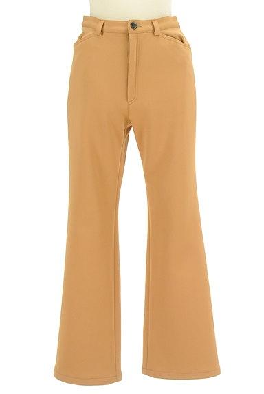 LUI CHANTANT(ルイシャンタン)の古着「カラーセミフレアパンツ(パンツ)」大画像1へ