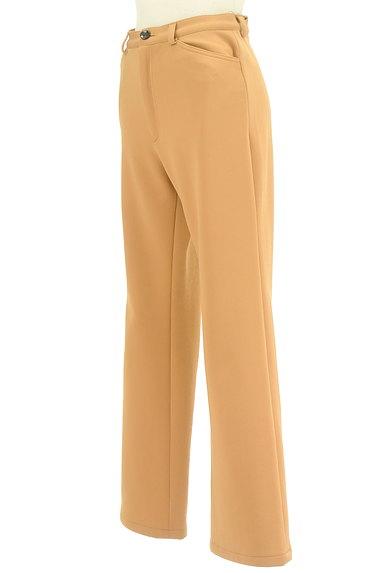 LUI CHANTANT(ルイシャンタン)の古着「カラーセミフレアパンツ(パンツ)」大画像3へ