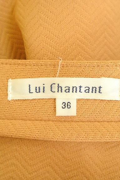 LUI CHANTANT(ルイシャンタン)の古着「カラーセミフレアパンツ(パンツ)」大画像6へ