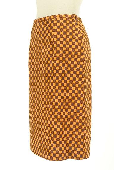 LUI CHANTANT(ルイシャンタン)の古着「総柄タイトひざ丈スカート(スカート)」大画像3へ