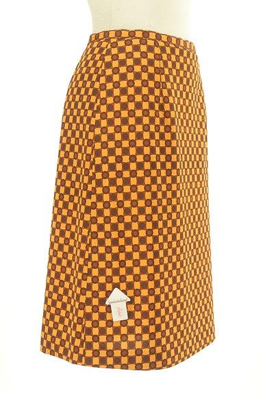 LUI CHANTANT(ルイシャンタン)の古着「総柄タイトひざ丈スカート(スカート)」大画像4へ