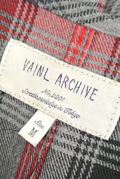 VAINL ARCHIVE(ヴァイナルアーカイブ)の古着「ガウン風チェック柄カーディガン(カーディガン)」大画像6へ