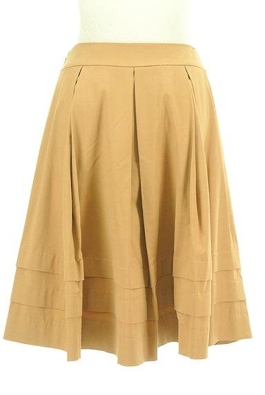 M-premier(エムプルミエ)の古着「タックフレア膝丈スカート(スカート)」大画像2へ