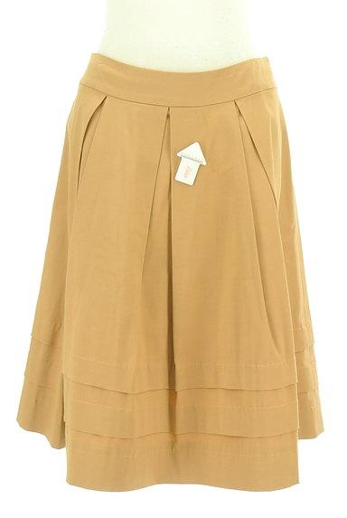 M-premier(エムプルミエ)の古着「タックフレア膝丈スカート(スカート)」大画像4へ